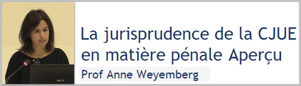 Présentation par Prof Anne Weyembe